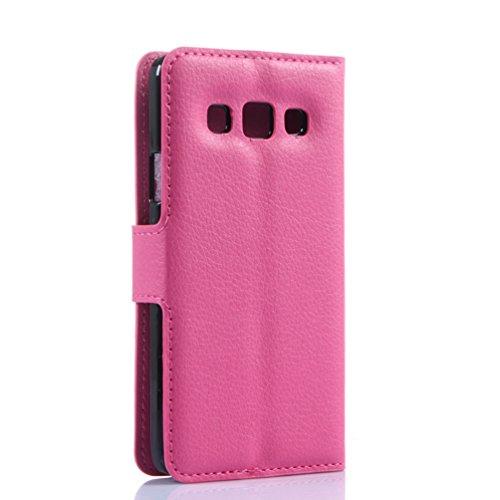Funda Samsung Galaxy A3(2015),Manyip Caja del teléfono del cuero,Protector de Pantalla de Slim Case Estilo Billetera con Ranuras para Tarjetas, Soporte Plegable, Cierre Magnético(JFC8-8) G