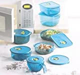 Tupperware Vent N Serve Microwave Super Set