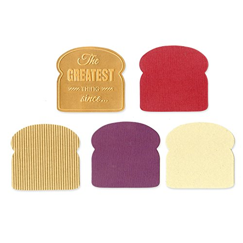 Sizzix Sliced Bread by Where Women Cook Bigz Die with Bonus Textured Impressions, 5.5-Inch by 6-Inch ()