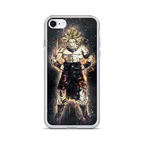 iPhone 7/8 Case Anti-Scratch Japanese Comic Transparent Cases Cover Karoly Anime & Manga Graphic Novels Crystal Clear