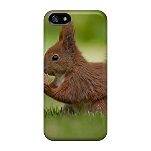 Iphone 5/5s Case Slim [ultra Fit] Sweet Squirrel Protective Case Cover
