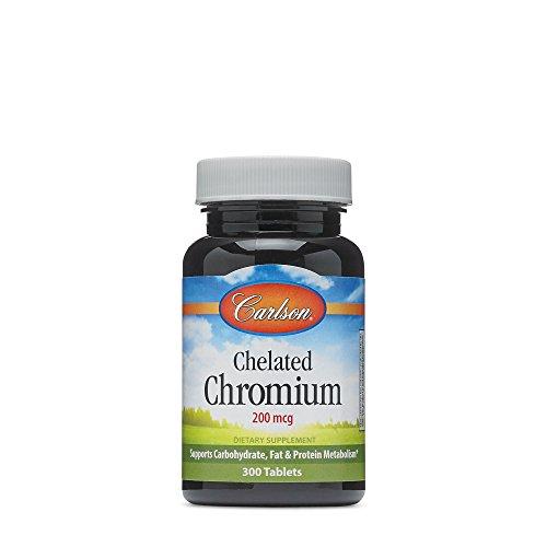Carlson Chelated Chromium 200 Tablets