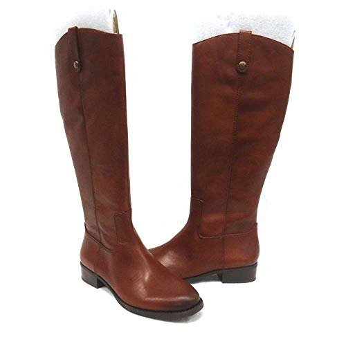 Price comparison product image INC International Concepts Womens Fawne Leather Closed Toe,  Cognac,  Size 8.0