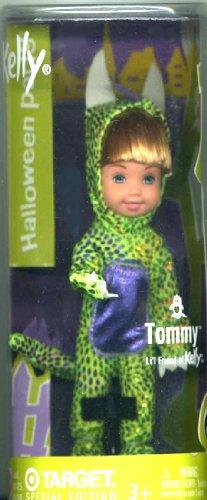 Costume Halloween Barbie (Barbie - Kelly Club Halloween Costume Party Tommy as Green Dragon, Kelly Li'l Friends Doll)