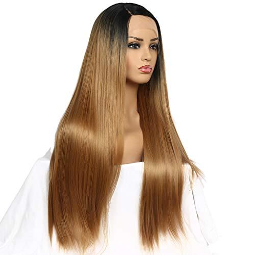 JUSTnowok Women Wigs Color Women'S Chemical Fiber Front