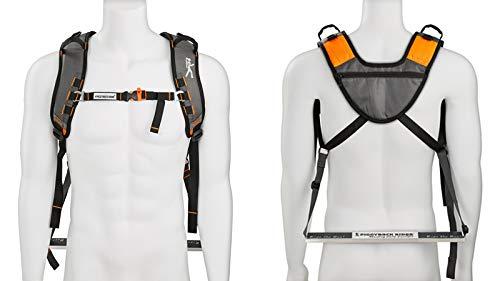 Piggyback Rider Scout Model – Child Toddler Carrier Backpack for Hiking Trails, Camping, Fitness Travel – Orange
