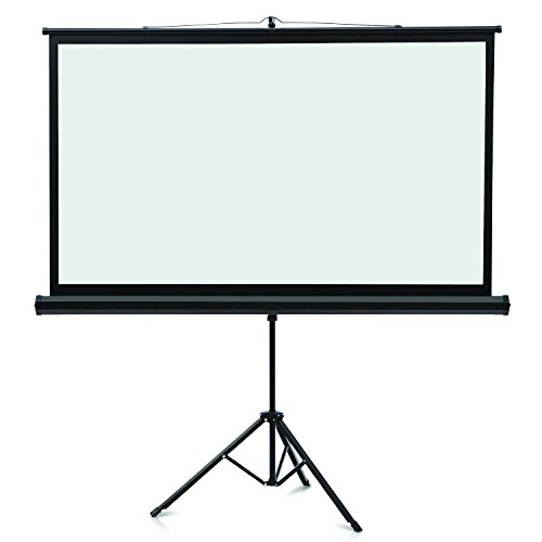 QRT85567 - Wide Format Tripod Base Projection Screen by Quartet
