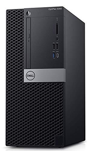 Dell Optiplex 5060 Tower PC, Intel Core i5-8500 3.0GHz 6-Core, 8GB DDR4 Memory, 256GB M.2 SSD, AMD GPU, Windows 10 Pro, 3 Years Warranty