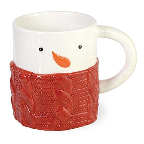 (Boston International - 12 oz. Mug - Sweater Snowman)