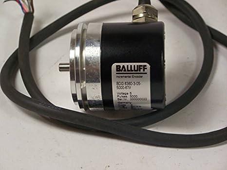 Details about  /Balluff BDG 6360-3-05-5000-67////  Encoder 5V  USED