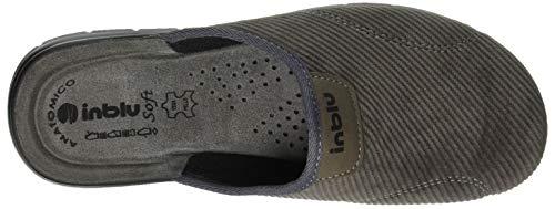 025 Grigio Uomo Aperte Retro Inblu grigio Sul Jim Big Pantofole xaq4w01z