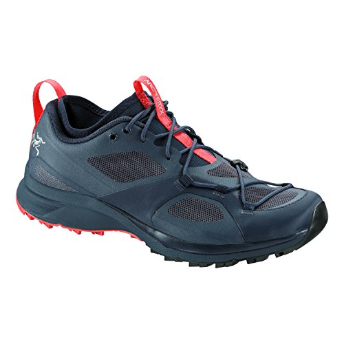 Arc'teryx Norvan VT Trail Running Shoe - Women's Blue Nights/Coral, US 8.0/UK 6.5