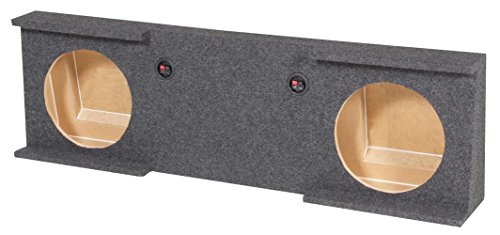 Empty Woofer Box Qpower Dual 12