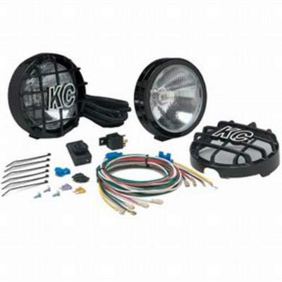 - KC HiLiTES 124 SlimLite Black 100w Driving Light System