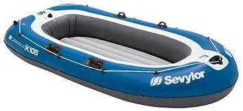 Sevylor barca hinchable Caravelle K105 azul: Amazon.es: Deportes y ...