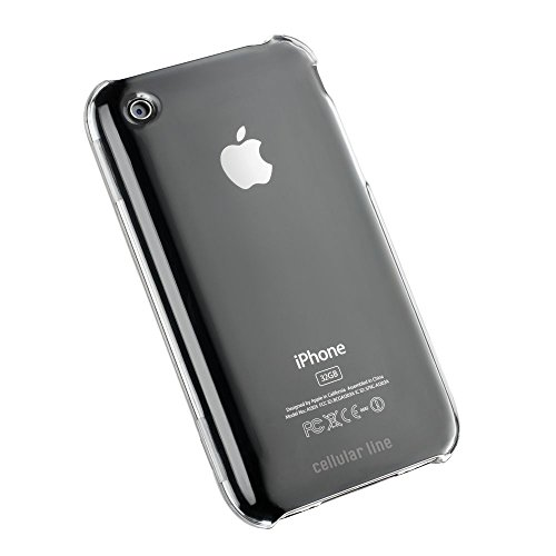 Cellular Line Coque rigide pour Apple iPhone 3 G/3GS Transparent