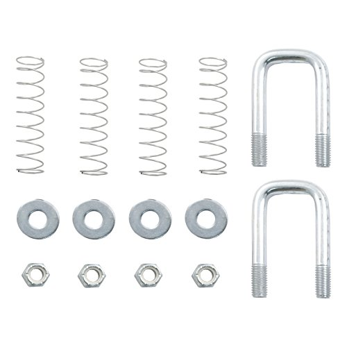 Zinc Gooseneck - CURT 66113 Gooseneck Safety Chain U-Bolt Kit