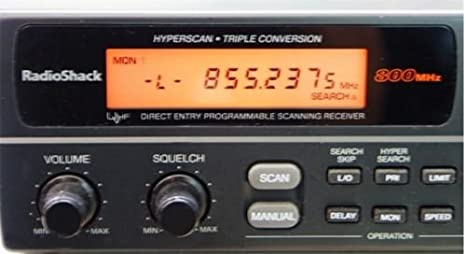 Amazon com: Radio Shack PRO-2048 200Ch Triple Conversion 800