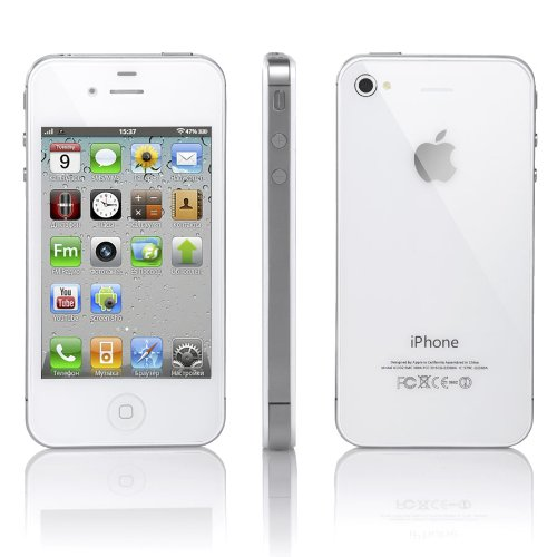 Apple iPhone 4S 32GB Unlocked - White (Certified Refurbished) by Apple (Image #2)