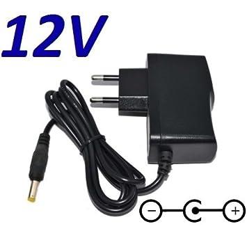 Cargador Corriente 12V Reemplazo Reproductor BLU-Ray LG BP135 BP 135 BP-135 Recambio Replacement