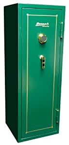 Homak HS40221160 16-Gun 13.09-Cubic Feet Mechanical Combination Lock Safe, Hunter Green