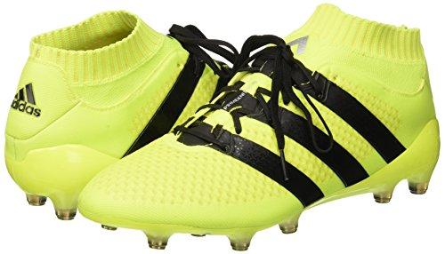 fútbol para Ace Amarillo 1 16 Botas Negbas FG Adidas Primeknit de Plamet Hombre Amasol 8068dw