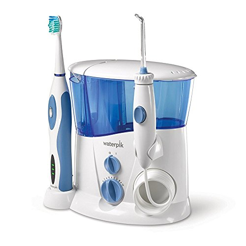 (Waterpik Complete Care Water Flosser and Sonic Toothbrush, WP-900)
