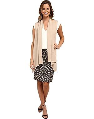 Calvin Klein Womens Flyaway Sweater Vest