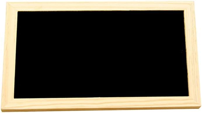 ultnice Lavagna Ciondolo Di Legno In Un Solo Lato Del Tavolo di messaggi Ciondolo Catena per el arte della parete artesan/ías di decorazione del hogar 30/x 20/cm