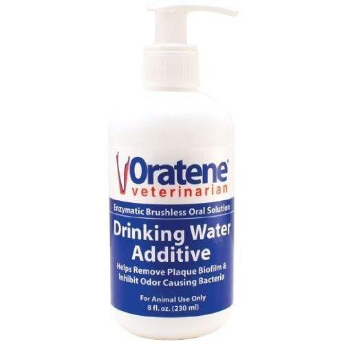 Health Care Oral Hygiene Oratene Veterinarian Drinking Water Additive (8 oz) (Triple Pet Skin Cream)