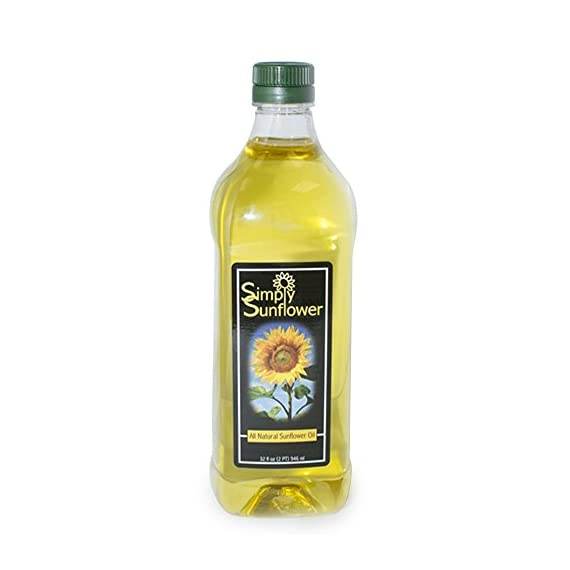Simply Sunflower - All-Natural Sunflower Oil - Cooking Oil - 32 oz. Bottle 1 This all-natural sunflower oil is a great alternative to traditional vegetable and canola oil for everyday cooking. Naturally high in vitamin E, it has a very high smoke temperature yet still maintains a light, nutty flavor found only in sunflowers. Sunflower oil is a great option for those who are health conscious.