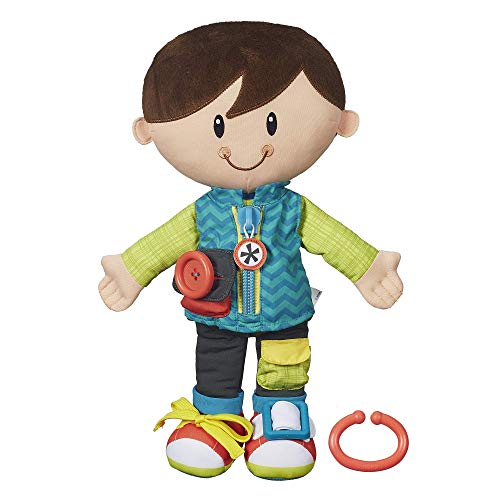 Playskool Classic Dressy Kids Boy Plush Toy for Toddlers Ages 2 and Up (Amazon Exclusive) (Renewed)