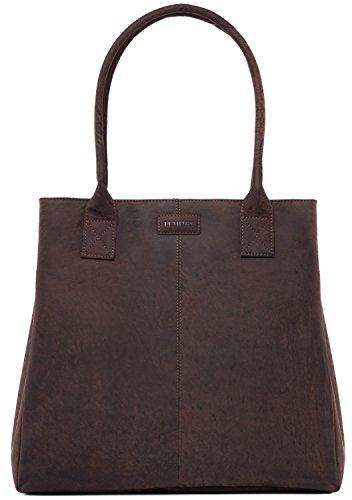Leabags Hand In Muskat Buffalo Bag Leather Genuine Yao Look Vintage rgxqFwSr