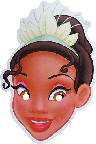 Disney Princess Tiana - Card Face Mask]()