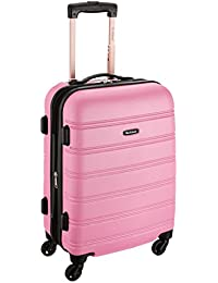 Amazon.com: Pink - Luggage / Luggage & Travel Gear: Clothing ...