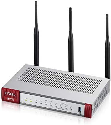 Read more about the article ZyXEL ZyWALL 900 Mbps Wireless AC UTM Firewall Appliance, empfohlen für bis zu 25 Benutzer, inkl. 1 Jahr Sicherheits-Lizenzdienste [USGFLEX100WBUN]