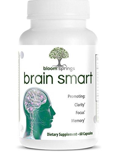 Todo Natural cerebro Booster suplemento para mejorar el rendimiento Mental - Ginkgo Biloba, Vinpocetina, hierba, DMAE y la Bacopa de San Juan, - ayudas enfoque, memoria, humor y mente claridad - la pila de Nootrópicos #1
