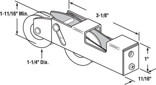 Buy sliding glass door rollers prime line
