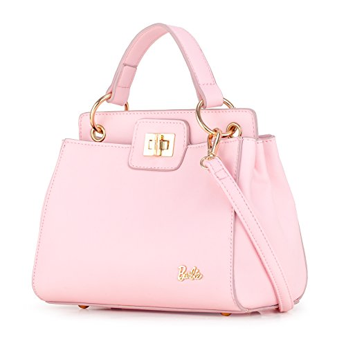 Barbie modische aristokratische Office Lady Umhängetasche für Damen MK Designer #BBFB524 (Rosa)