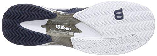 Wilson Rush Pro Sl Ac - Zapatillas de tenis Unisex adulto Azul / Blanco