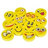 Rhode-Island-Novelty-Emoji-Party-Favor-and-Giveaway-Pencil-Eraser-and-Sharpener-Gift-Set-36-Piece