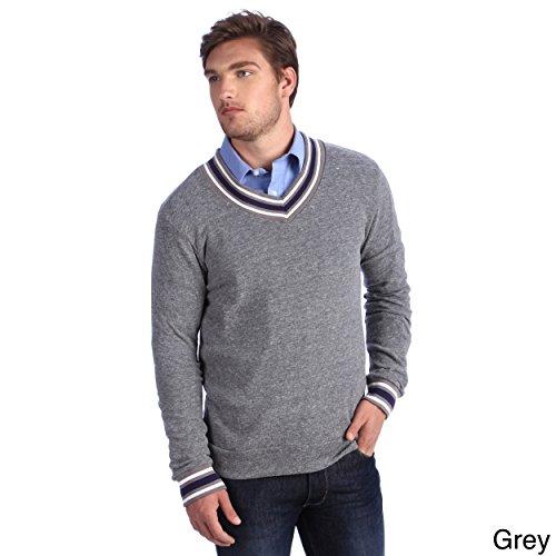 Alternative ApparelMen's Eco-cashmere V-Neck Sweatshirt - - LA Pop Art