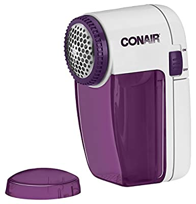 Conair Battery Operated Fabric Defuzzer - Shaver, White