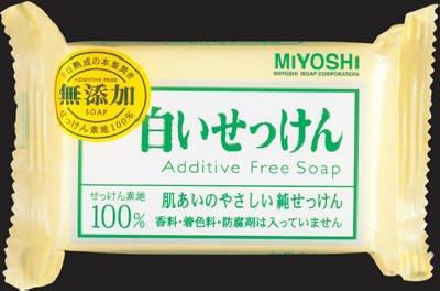 ミヨシ石鹸  無添加 白いせっけん108g×80点セット (4904551001522) B00SB6920Y  80個