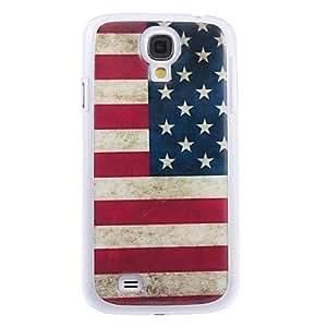 Patrón de la bandera americana retro duro caso para Samsung i9500 S4