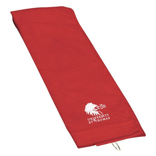 St. Thomas Red Golf Towel 'Official Logo' by CollegeFanGear