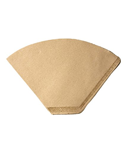 100 Replacement #2 Coffee Filters Premium Unbleached, All Natural, High Quality Brew Brown Paper Cone, Fits All Coffee Makers With #2 Number 2 Coffee Basket Holder including Melitta, by Think Crucial (Brew Basket Peoples)