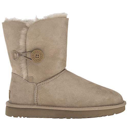 UGG New Women's Bailey Button II Boot Fawn 8 from UGG