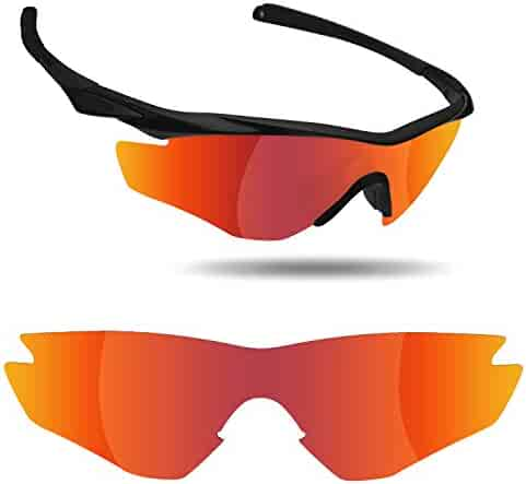 63bacae5ab Fiskr Anti-saltwater Replacement Lenses for Oakley M2 Frame Sunglasses - Various  Colors