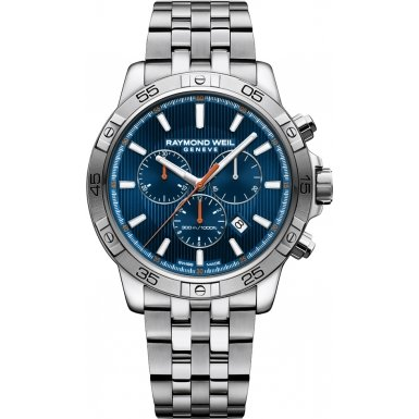 Raymond-Weil-Mens-Tango-Quartz-and-Stainless-Steel-Diving-Watch-ColorSilver-Toned-Model-8560-ST2-50001